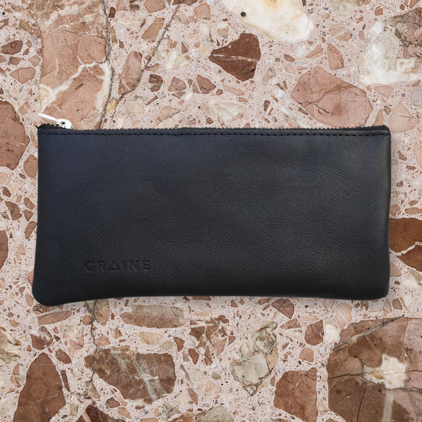 Graine Westgarth Wallet, Navy