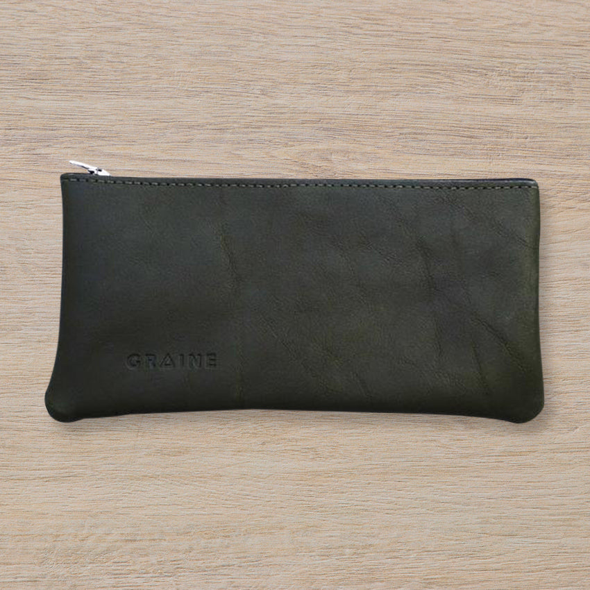 Graine Westgarth Wallet, Olive