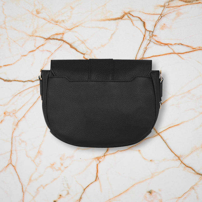 Arlington Milne Zara Saddle Bag, Black