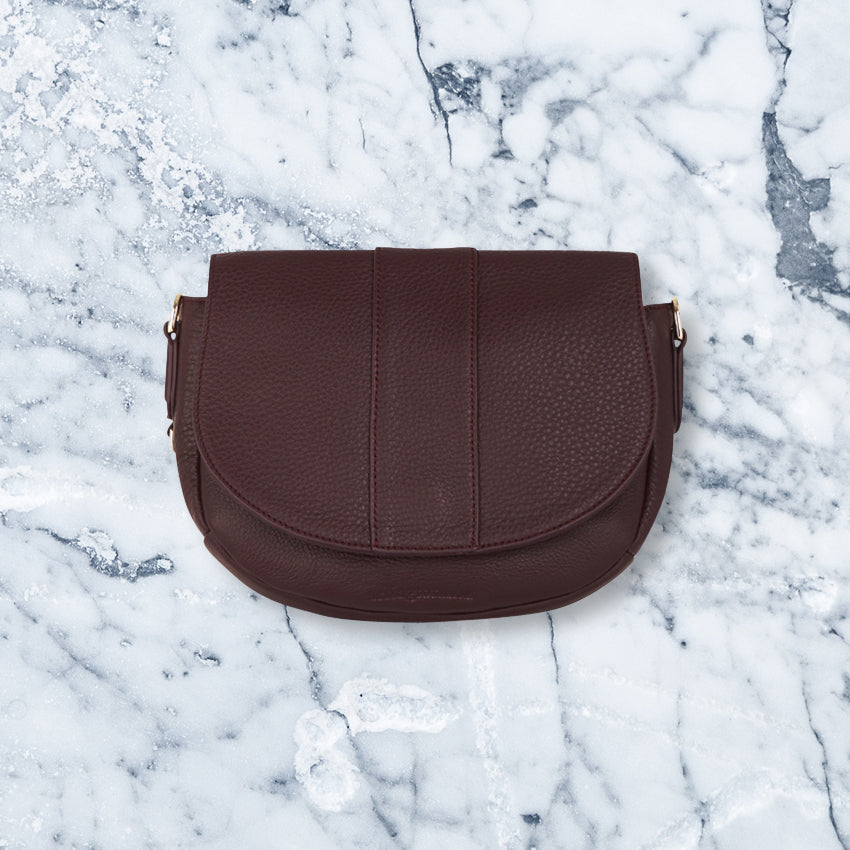 Arlington Milne Zara Saddle Bag, Pinot