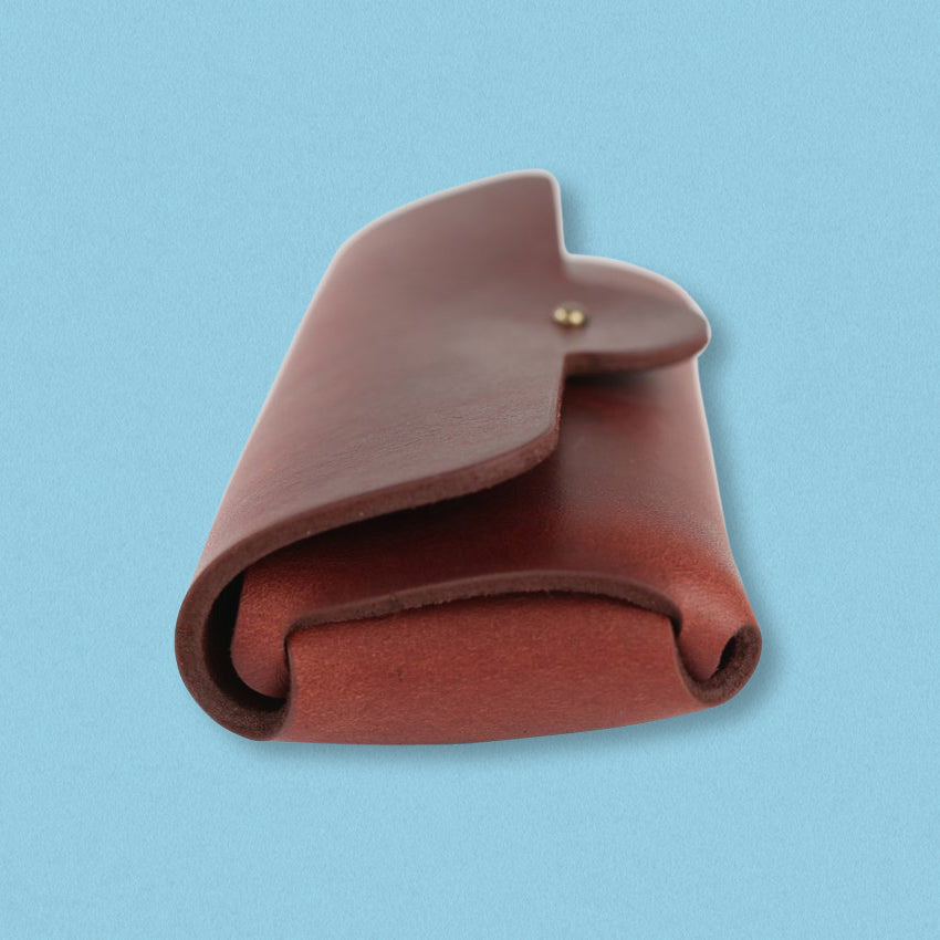 IE Francis Eyewear Case, Ox Blood