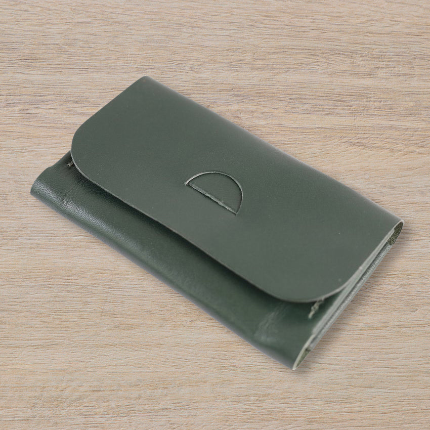 IE Francis Tab Wallet, Racing Green