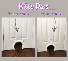 The Kitty Pass Standard Interior Cat Door