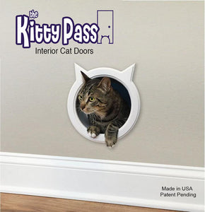 The Kitty Pass Wall Entry Cat Door, Cat Door Tunnel