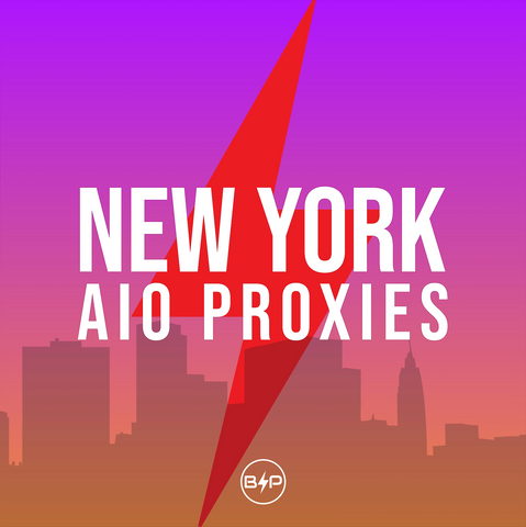 New York 30 Day AIO Proxies