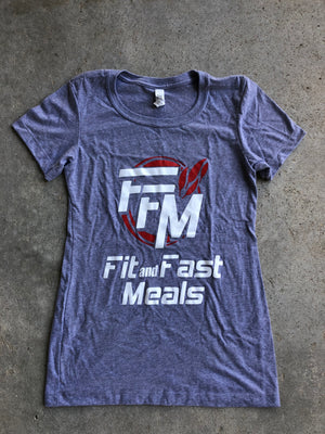 FFM Gray Ladies T-Shirt X-Small