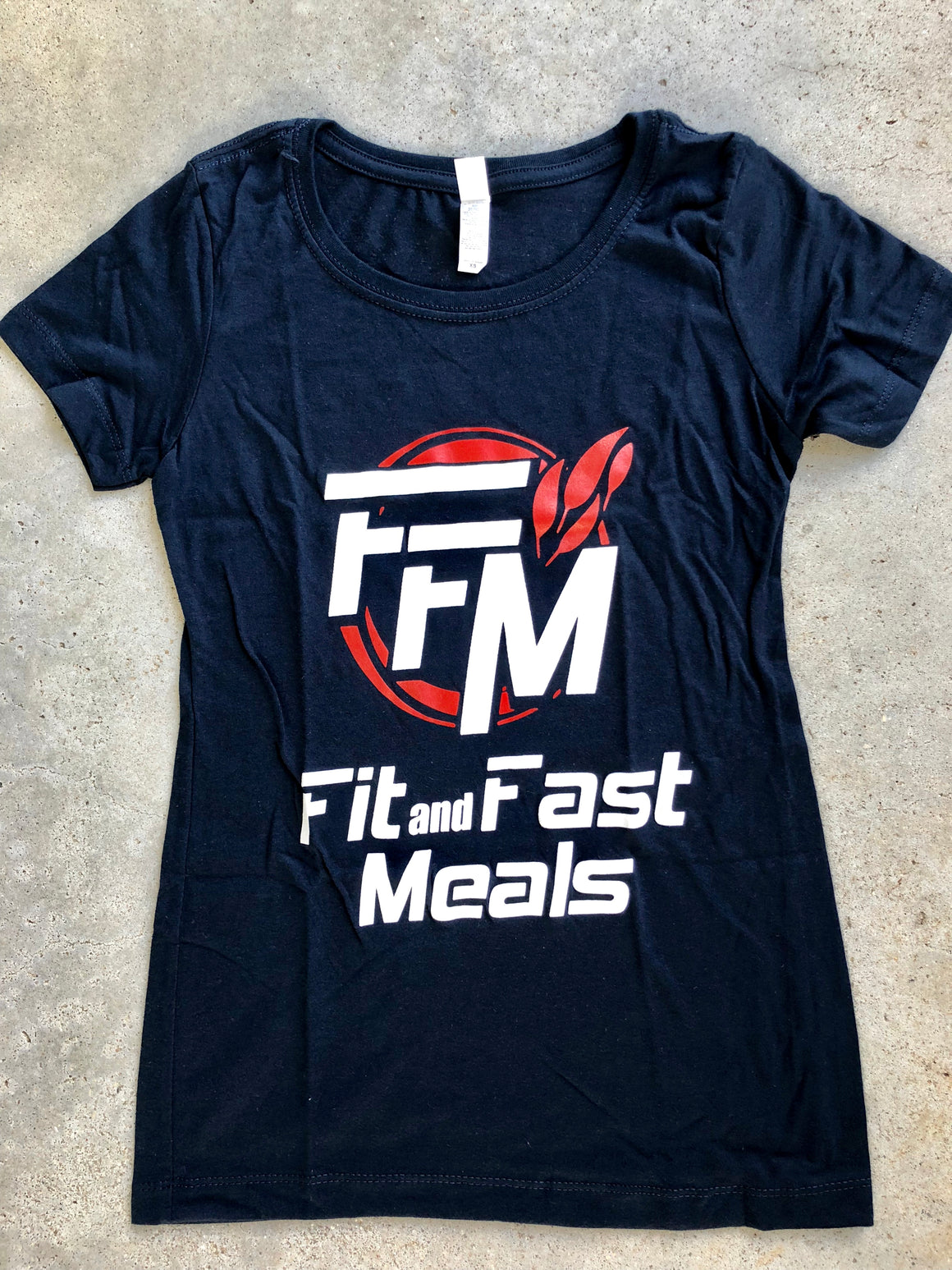FFM Dark Blue Ladies T-Shirt X-Small