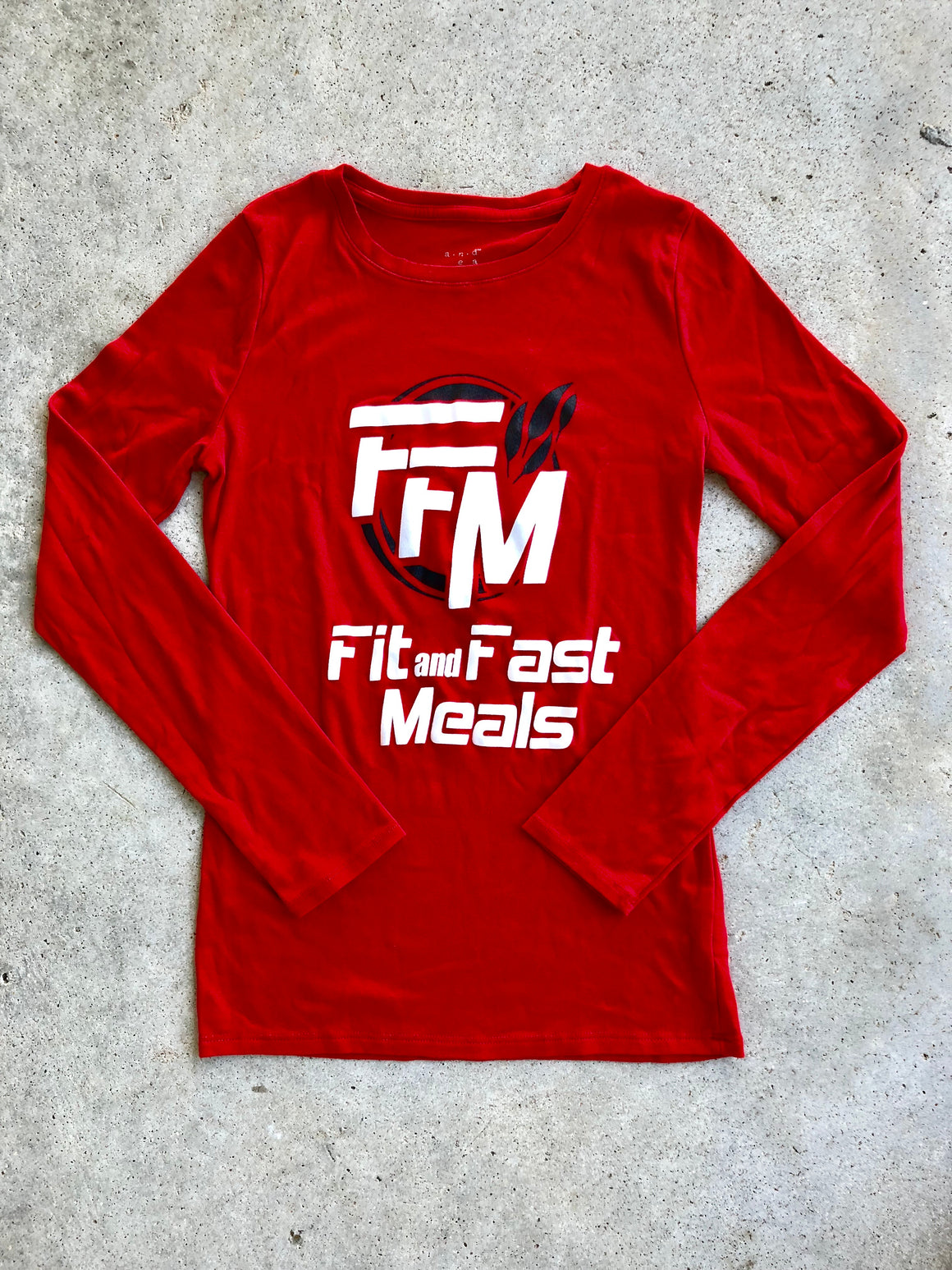 FFM Red Women's Long Sleeve T-Shirt