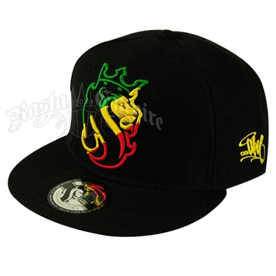 Lion Striped Cap