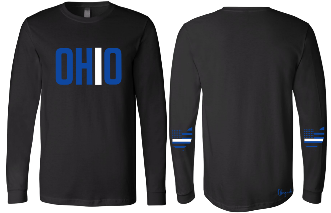 Ohriginal Ohio EMS Line Long Sleeve