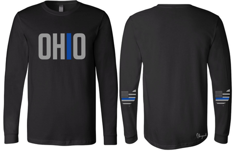Ohriginal Ohio Law Enforcement  Line Long Sleeve
