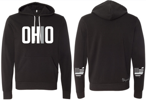 Ohriginal Ohio Corrections Line Fleece Hooded Pullover