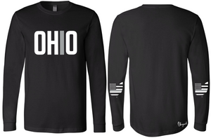Ohriginal Ohio Corrections Line Long Sleeve