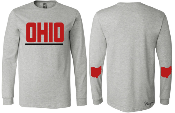 Ohriginal  Ohio Long Sleeve Tee