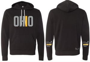 Ohriginal Ohio Dispatcher Line Fleece Hooded Pullover