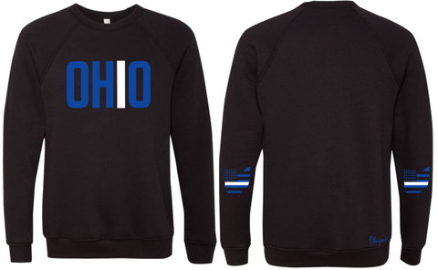 Ohriginal Ohio EMS Line Fleece Crew