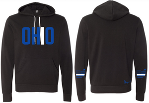Ohriginal Ohio EMS Fleece Hooded Pullover