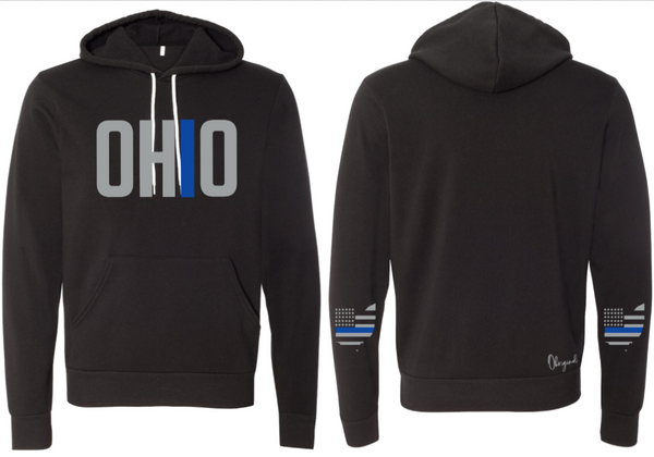 Ohriginal Ohio Law Enforcement Fleece Hooded Pullover