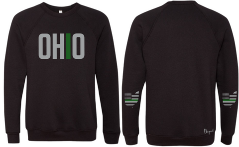 Ohriginal Ohio Military Line Fleece Crew