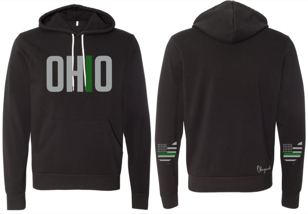 Ohriginal Ohio Military Fleece Hooded Pullover