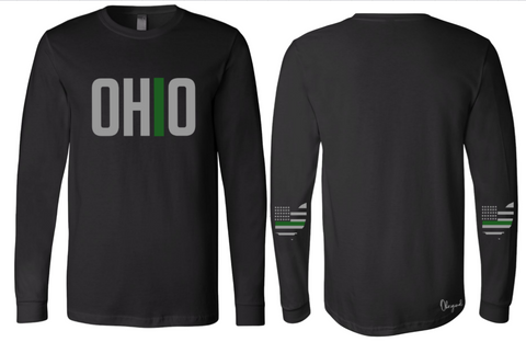 Ohriginal Ohio Military Line Long Sleeve