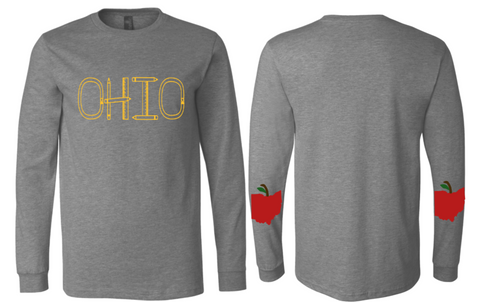 Teacher  Ohio Unisex  Long Sleeve Tee