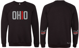 Ohriginal Ohio Firefighter Line Fleece Crew