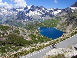Riding in Northern Italy is exhilarating on a Pista Bike