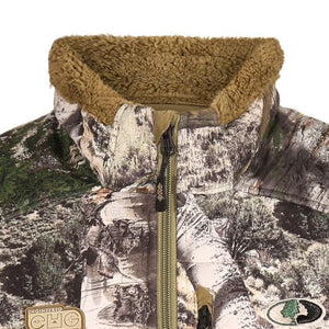 Mossy Oak Blackburn Berber fleece vest