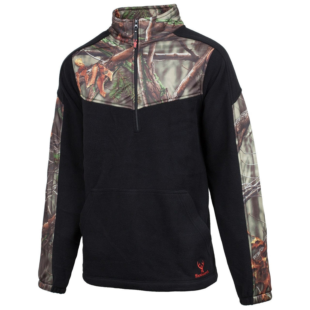 Huntworth Mens 1/4 Zip Fleece
