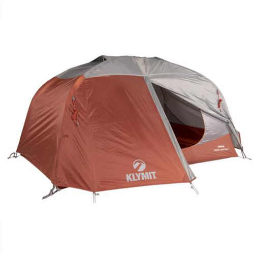 Klymit Cross Canyon 4 Tent - Red/Grey