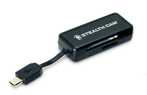 Stealth Cam Android Card Reader