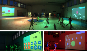 Lu Interactive Gym Playground for Schools