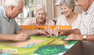 Interactive Games Bring Joy to Seniors with Obie Projection