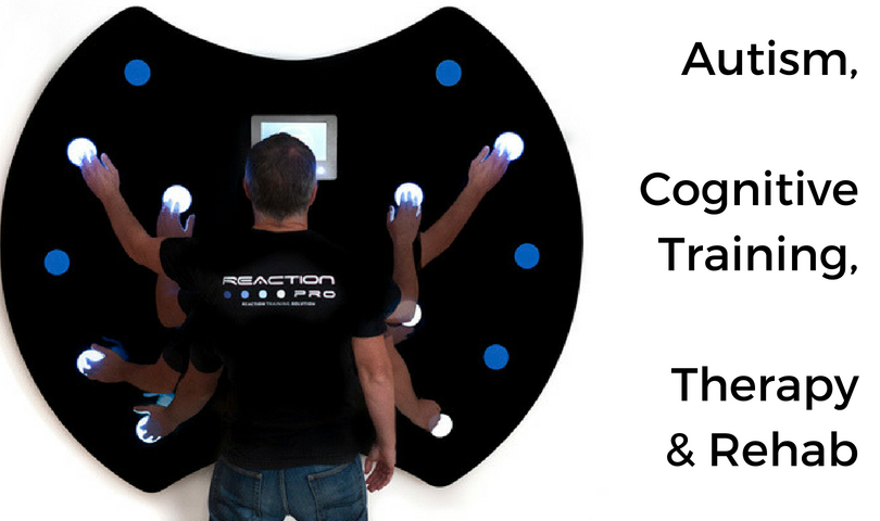 REACTION PRO TRAINER used for Autism and Therapy Treatment