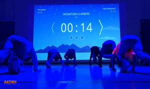Houston Texas School District Installs a LU Interactive Gym