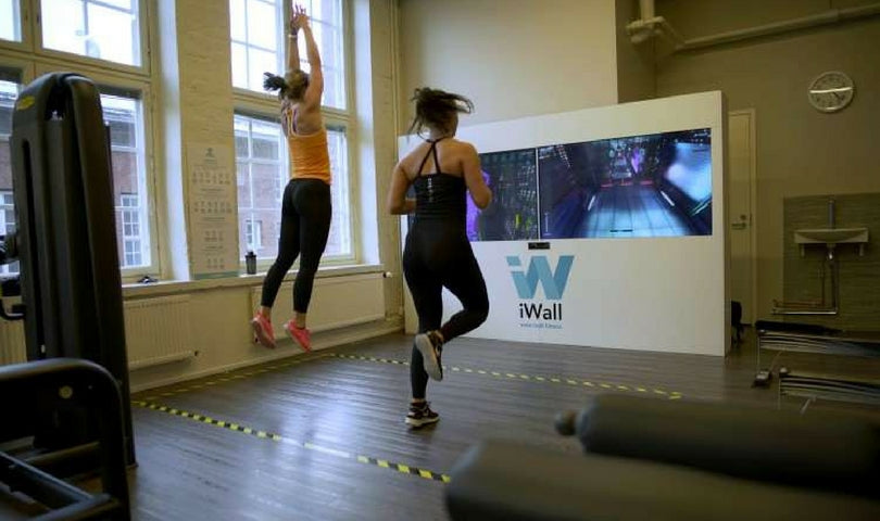 iWALL - Immersive Fitness Game Wall