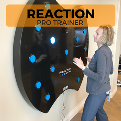 Reaction Pro Trainer, Touch Wall, Twall, Reaction Fitness Games