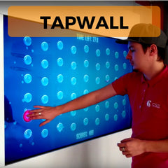 Tapwall Fitness Reaction Fitness game