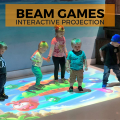 Beam Orbie Projection Fitness Games