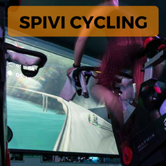 Spivi Cycling, Virtual exercise bike, interactive cycle studio, Bike fitness gaming, exerbike