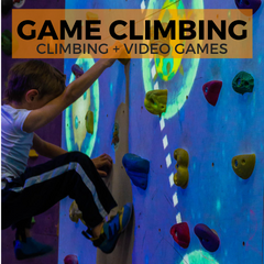 Interactive Climbing Projection Games