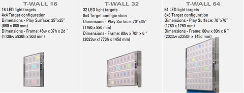 T-Wall Classic Product Models