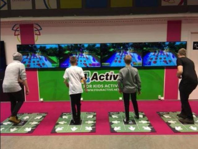 4Active Multiplayer Fitness Game System
