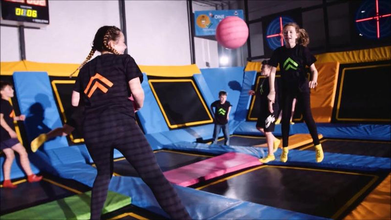 DodgeAttack Dodge Ball Fitness Game