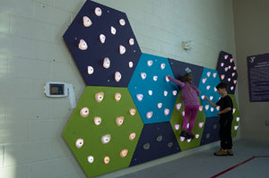 GlowHolds Climbing Wall