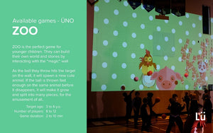 Lu Large Screen Projection Games
