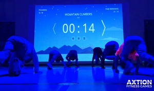 Lu Interactive Projection Fitness Wall