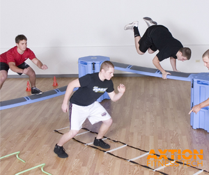 Functional Fitness Obstacle Course