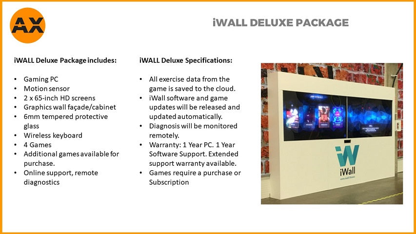 iWall Fitness Interactive Wall